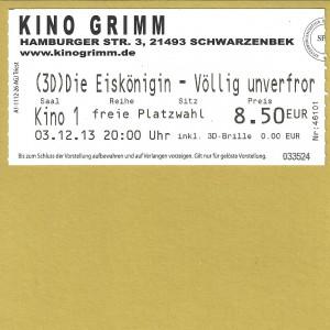 Kinokarte_2013-12-03_DieEiskönigin-VölligUnverforen(3D)