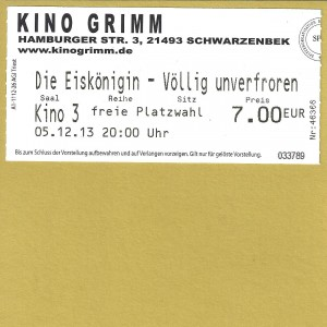 Kinokarte_2013-12-05_DieEiskönigin-VölligUnverforen